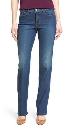 Women's Nydj Marilyn Stretch Straight Leg Jeans $124 thestylecure.com