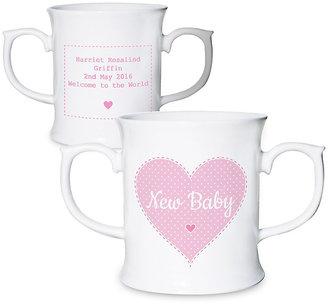 Personalised Stitch & Dot Girls Loving Mug