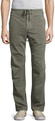 James Perse Textured Micro-Twill Utility Pant