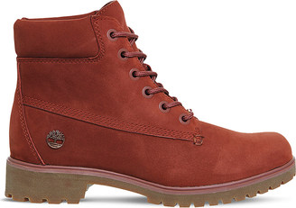 TIMBERLAND Slim 6-inch leather boots $137 thestylecure.com
