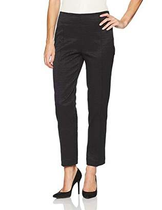 Nanette Lepore Nanette Women's Skinny Pull on Ankle Pant/Textured Stretch