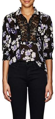 By Ti Mo byTiMo Women's Floral Georgette Blouse