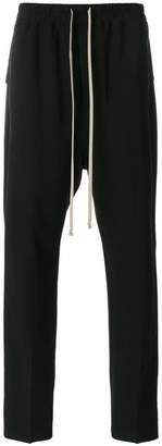 Rick Owens drop-crotch cotton trousers