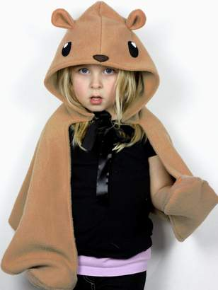 Bear Hooded Cape Costume