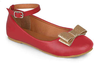 Journee Collection Afton Toddler & Youth Flat - Girl's