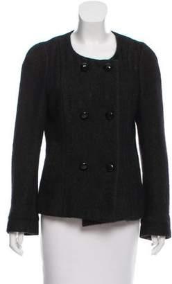 Etoile Isabel Marant Angora & Wool-Blend Double-Breasted Jacket