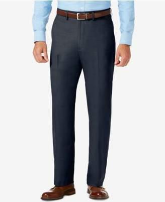 Haggar J.M. Men's Classic-Fit Stretch Sharkskin Dress Pants