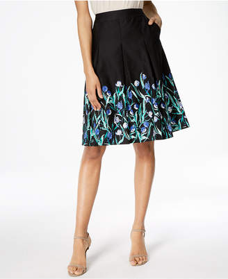 Charter Club Cotton Print Skirt, Created for Macy's