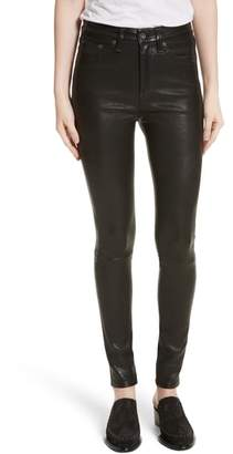 Rag & Bone Lambskin Leather Pants