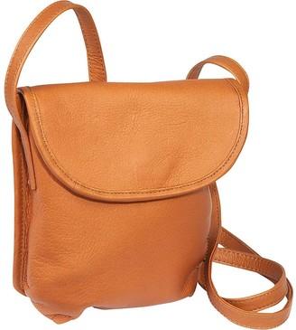 Le Donne Leather Magnetic Flap Mini Crossbody Bag