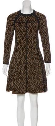 A.L.C. Printed Knit Dress