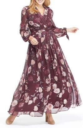Gal Meets Glam Georgia Chiffon Maxi Dress