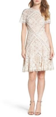 Women's Tadashi Shoji Aurore Fit & Flare Dress $408 thestylecure.com
