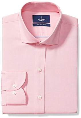 Buttoned Down Men's Slim Fit Cutaway-Collar Solid Non-Iron Dress Shirt