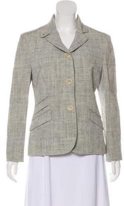 Loro Piana Melange Notched Blazer