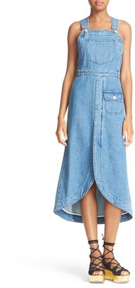 Women's See By Chloe Denim Overall Dress $395 thestylecure.com