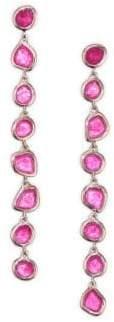 Monica Vinader Pink Quartz Cocktail Earrings