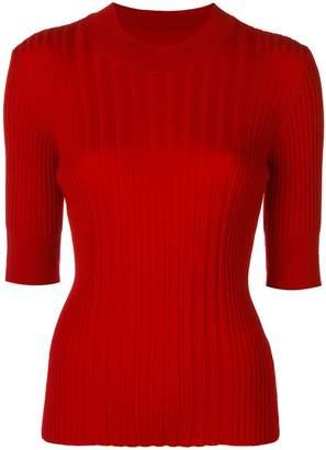 Maison Margiela short-sleeve fitted sweater