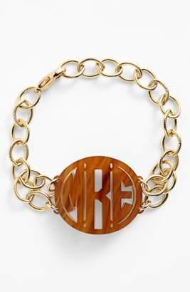 Moon and Lola 'Annabel' Medium Personalized Monogram Bracelet