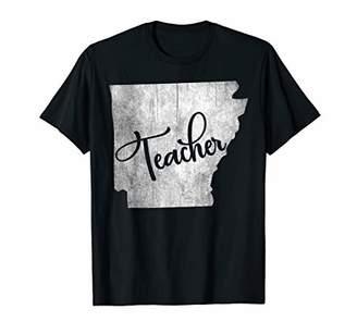 Arkansas back to school inspirational teacher women gifts T-Shirt