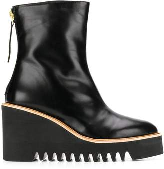 Paloma Barceló wedge ankle boots