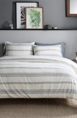Pendleton Ticking Stripe Duvet Cover & Sham Set