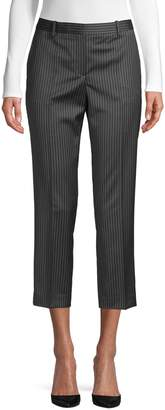 Theory Striped Wool Pants