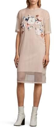 AllSaints Kyla Floral Print Dress