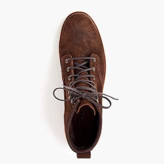 J.Crew Original Chippewa® for rough-out leather boots in chestnut