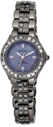 Armitron Women's Dress Gray Round Watch