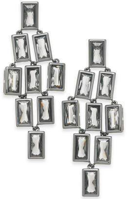 Alfani Geometric Stone Chandelier Earrings