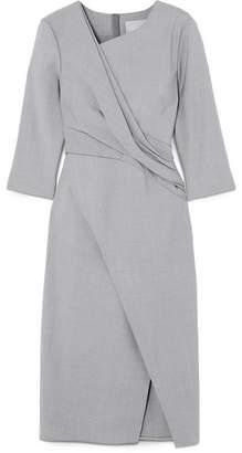 Jason Wu Woman Wool-blend Canvas Dress Burgundy Size 8 Jason Wu 4a7ndX