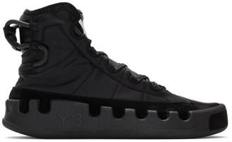 Y-3 Black Kasabaru Sneakers