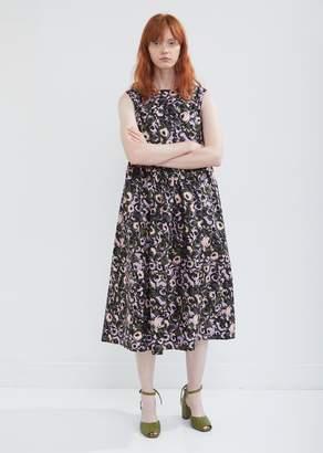 Marni Poplin Floral Dress