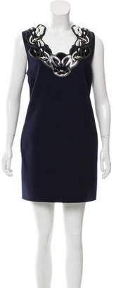 Christopher Kane Wool Shift Dress