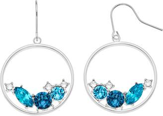 Brilliance+ Brilliance Swarovski Crystal Hoop Earrings