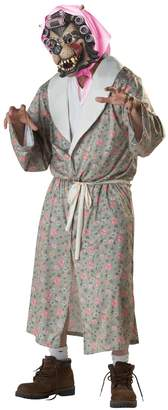 California Costumes Men's Grandma Wolf Adult
