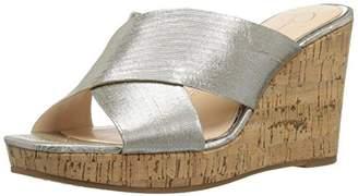 Jessica Simpson Women's SEENA Wedge Sandal 8.5 Medium US