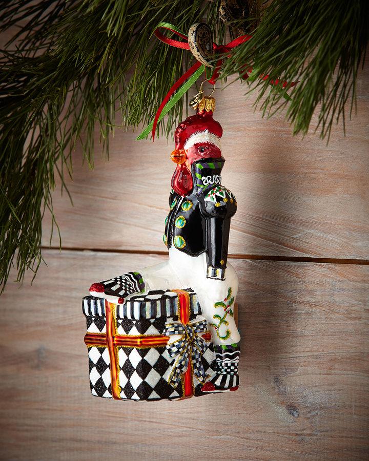Mackenzie Childs MacKenzie-Childs The General Christmas Ornament