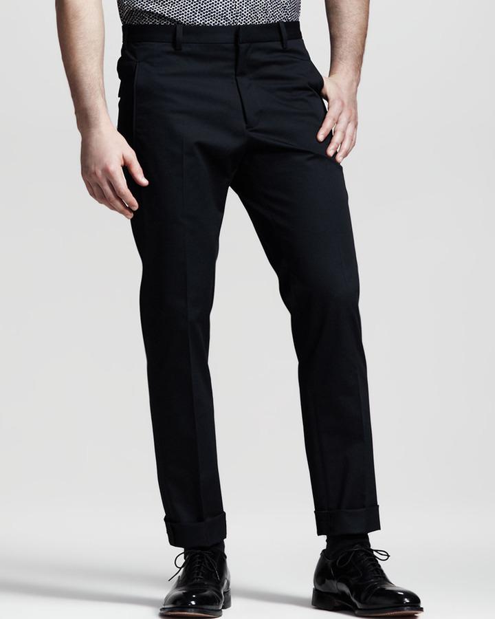 Jil Sander Slim Cropped Pants
