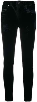 Diesel Black Gold slim velvet trousers