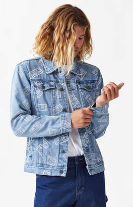 Obey Bender Eyes Denim Jacket