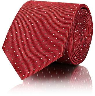 Lanvin Men's Polka Dot Silk Necktie