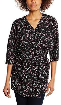 BZR Women's Abbey Floral 3/4 Sleeve Blazer,(Manufacturer Size:36)