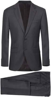 Plain Wool Suit