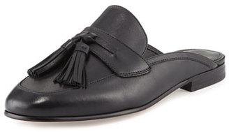 Sam Edelman Paris Leather Tassel Mule, Black $150 thestylecure.com