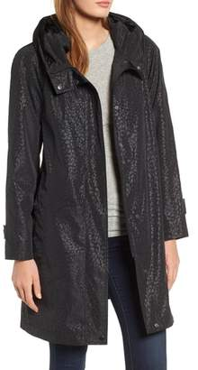Gallery Pleated Collar Raincoat