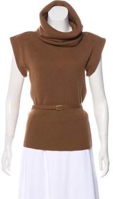 Leroy Veronique Wool Short Sleeve Sweater