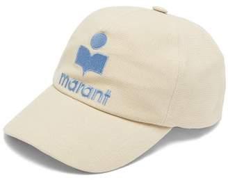 Isabel Marant Tyron Logo Embroidered Baseball Cap - Womens - White