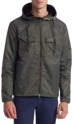 Madison Supply Bonded Zip Hooded Jacket